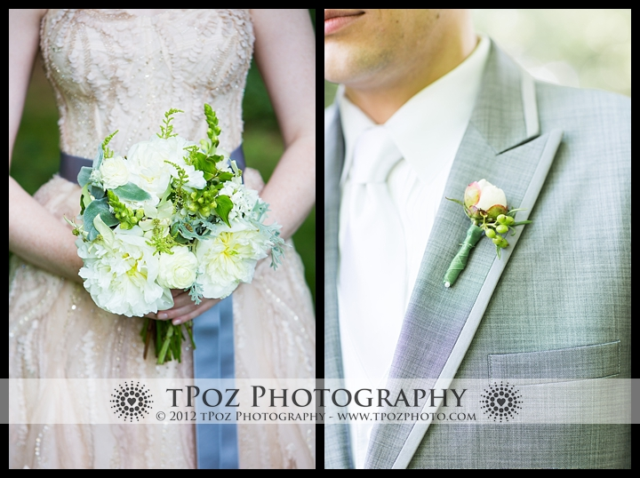 Local Color Flowers Baltimore Wedding Bouquet