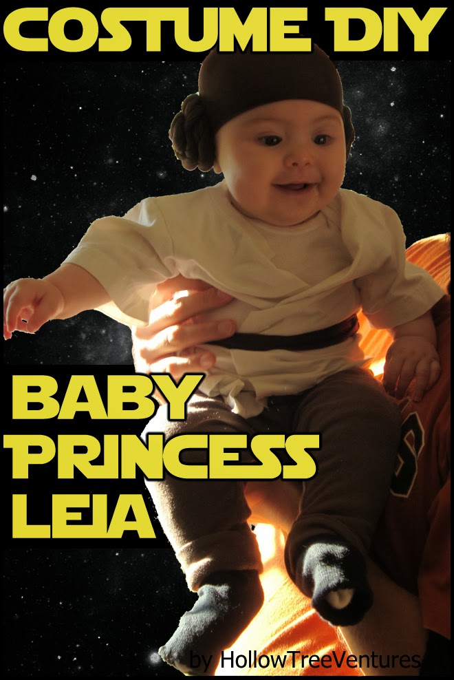 Princess Leia Halloween costume tutorial by Robyn Welling @RobynHTV