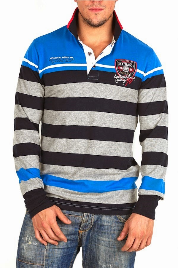 Imagen de jersey a rayas Koröshi - Hombre