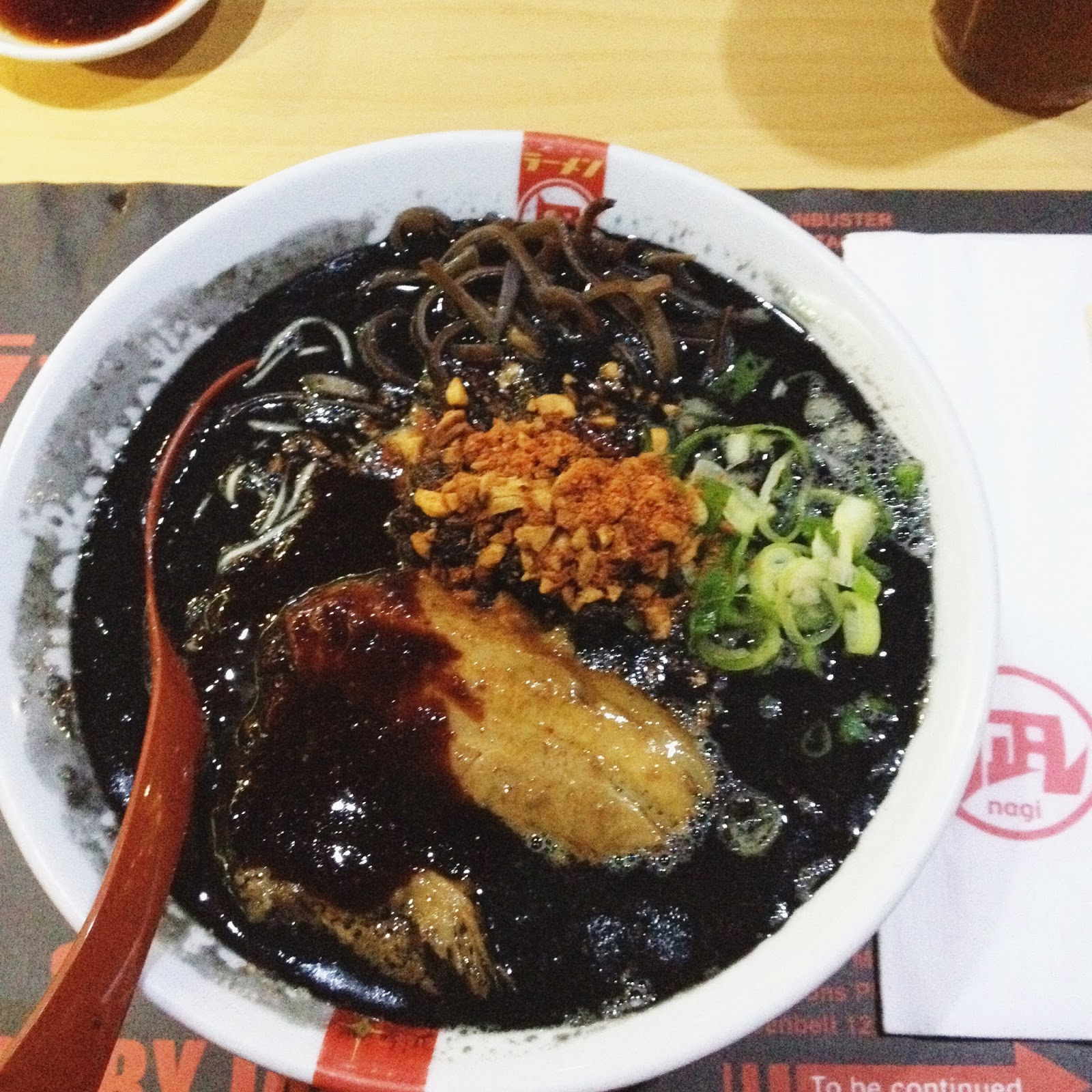 ramen nagi black king akao review