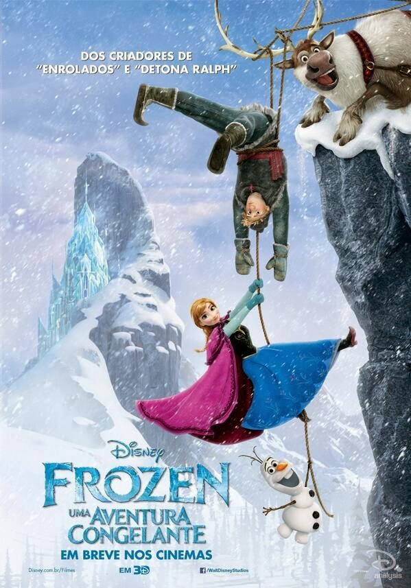 New International Posters For Frozen