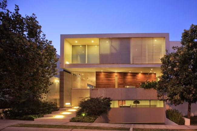 Casas minimalistas y modernas casa moderna en guadalajara for Casa moderna kw