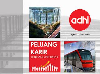 Lowongan BUMN Desain dan Pengembangan Property Mix Used PT Adhi Karya (Persero) Tbk