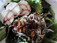 Ensalada templada de gulitas