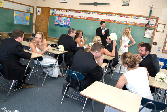 teacher wedding pictures