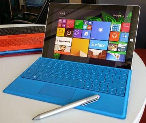 Microsoft lança tablet Surface 3 com Windows 8.1 e preço menor