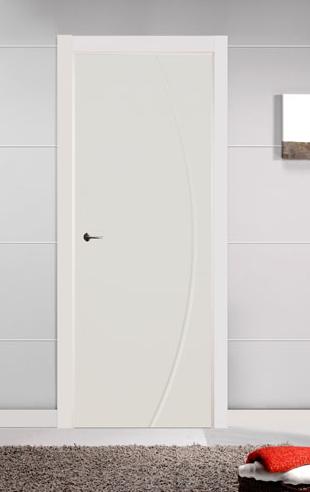 Puertas lacadas en blanco fantasy pumolza artideco - Puertas de madera lacadas ...