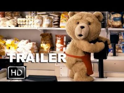 Teddy bear in Ted