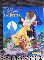 """Alla ricerca di ricordi d'infanzia: l'album di figurine Panini de """"La Bella e La Bestia"""""""