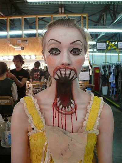 Halloween makeup designs with Scary arts