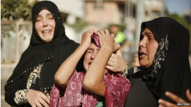 In Gaza israeli invasion on the ground are likely to inflict heavy civilians casualties