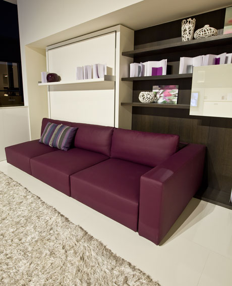 Design classic interior 2012 muebles 3 en 1 armario for Sofa cama armario