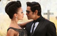 Vikram and Amy Jackson with Salman Khan