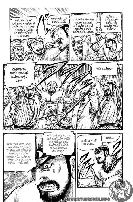 Chú Bé Rồng - Ryuuroden chap 123 - Trang 43