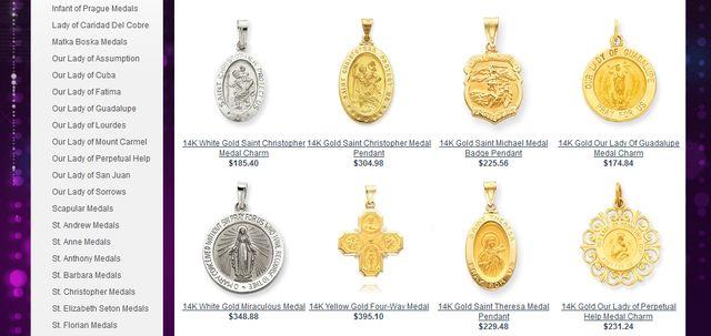 Saint Medallions