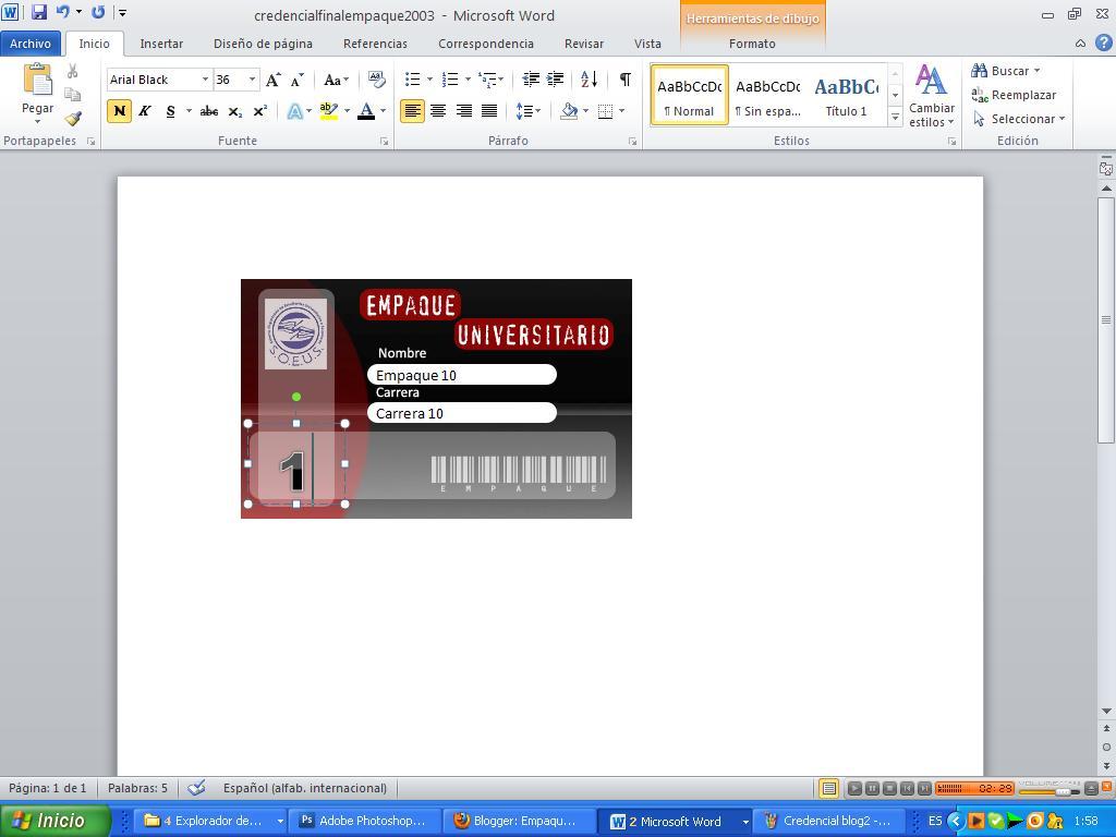 formato de credenciales en word - Pertamini.co