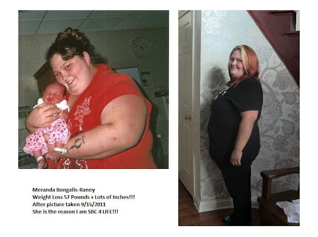 Pictures of people that have lost weight w/ Skinny Fiber.