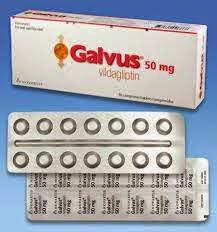 Dosis Obat GLAVUS Vildagliptin