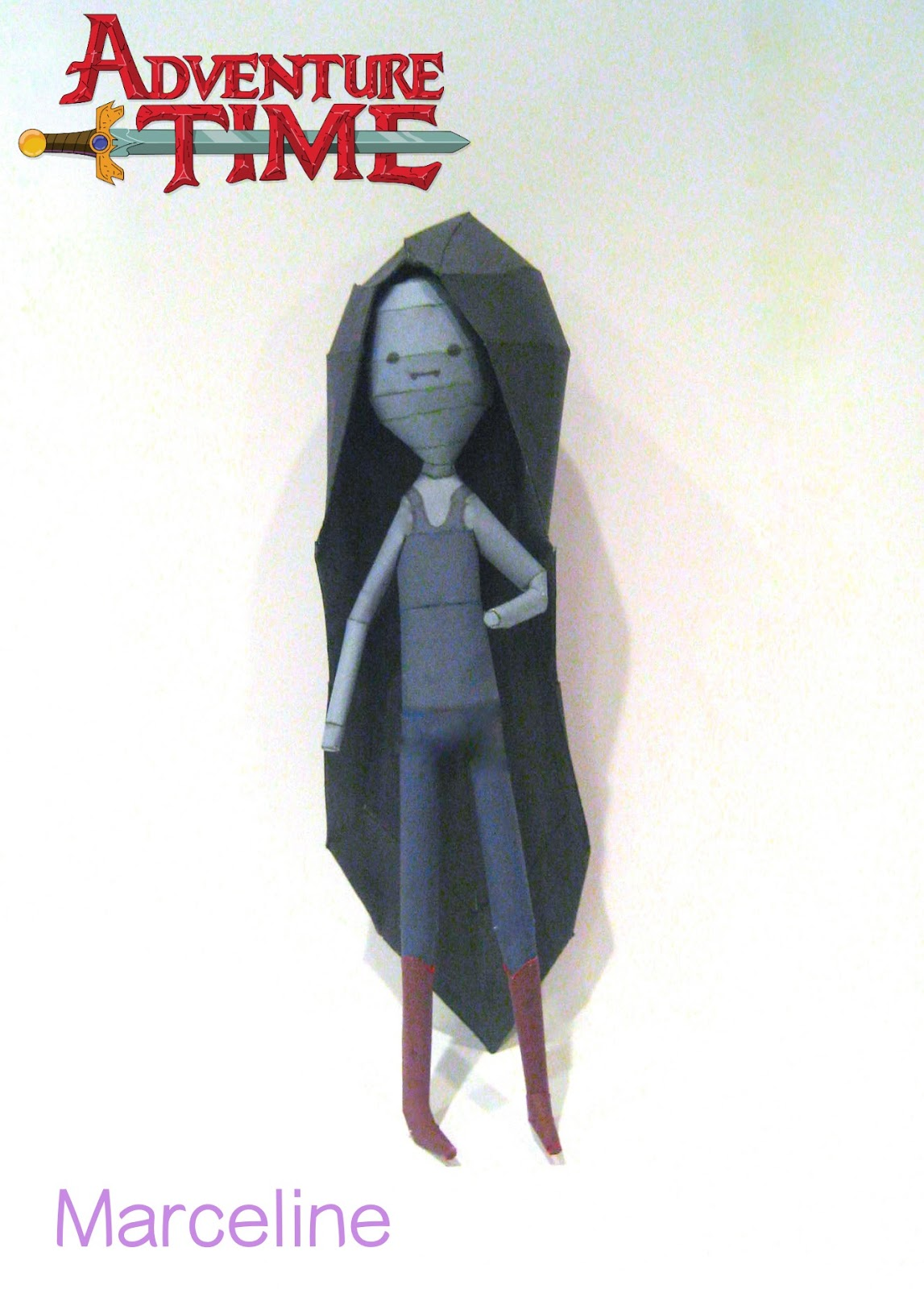 Adenture Time Marceline The Vampire Queen Paper Model