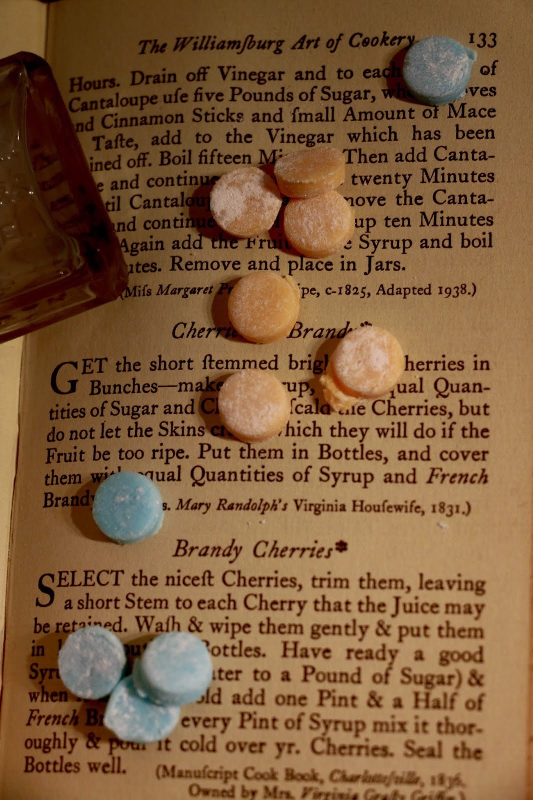 18th Century Altoids Lozenges Recipe