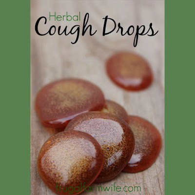Homemade Herbal Cough Drops