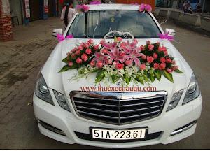 Hoa xe cưới MS001