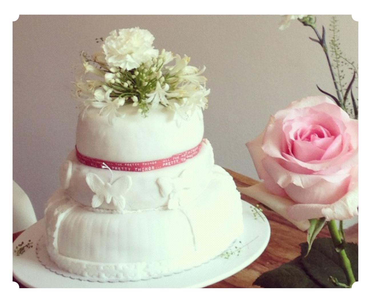 Zuckerschock und Tortenglück: Meine erste Hochzeitstorte