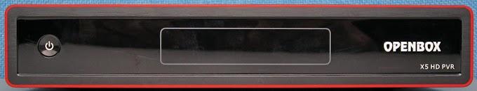 Openbox X5 - Nova atualização via internet de 19/12/2012