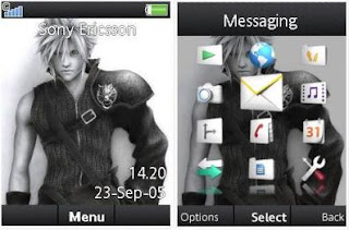 Final Fantasy Theme for Sony Ericsson Cedar j108i