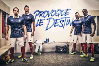 Nike a dévoilé le nouveau maillot de l'équipe de France