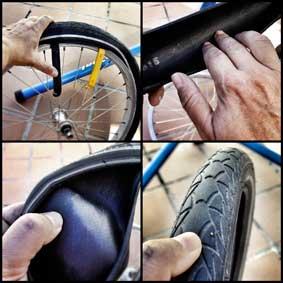 Como reparar un pinchazo