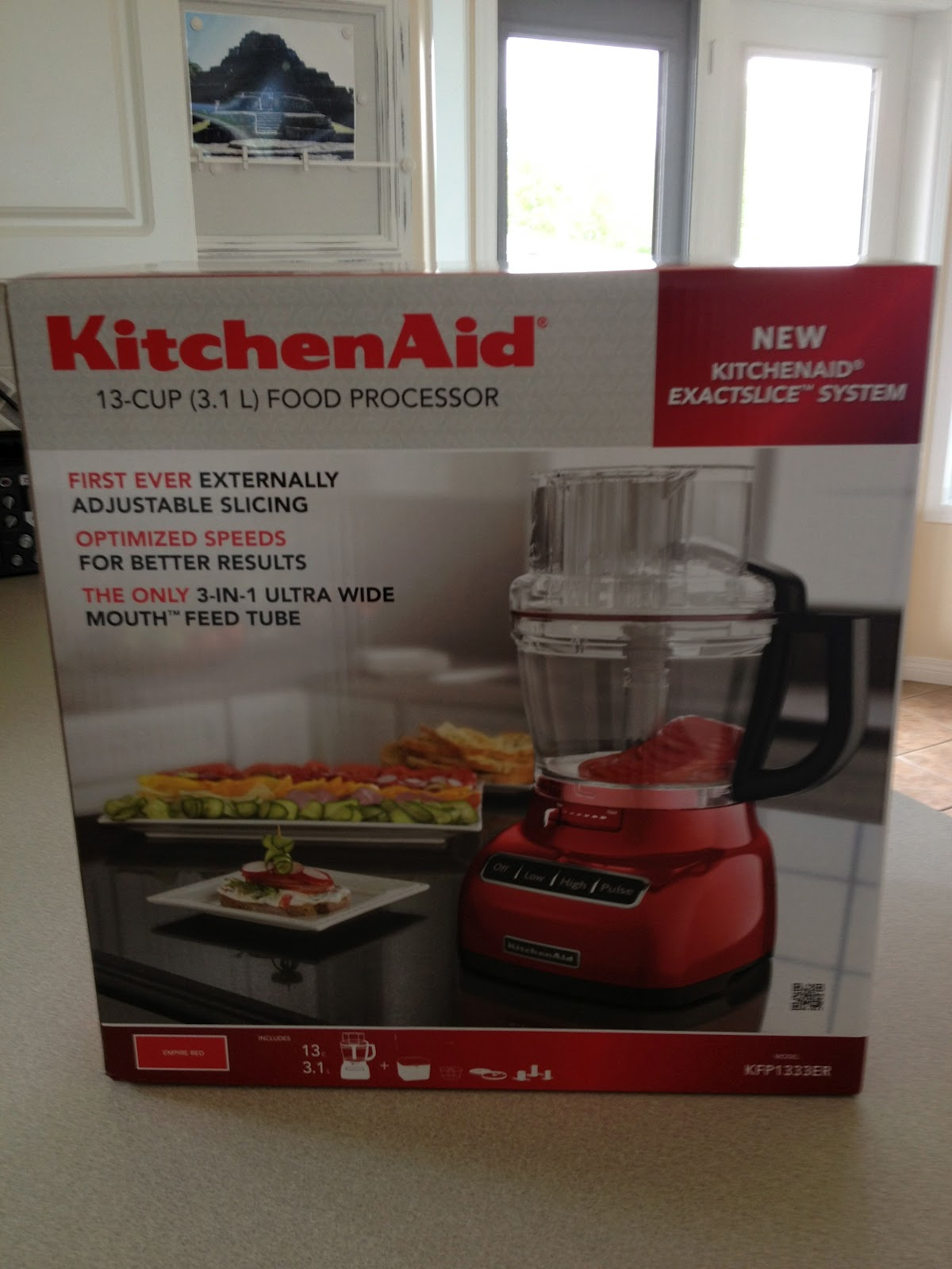 Cooking Illustrated: KitchenAid 13 Cup Food Processor With Exactslice System