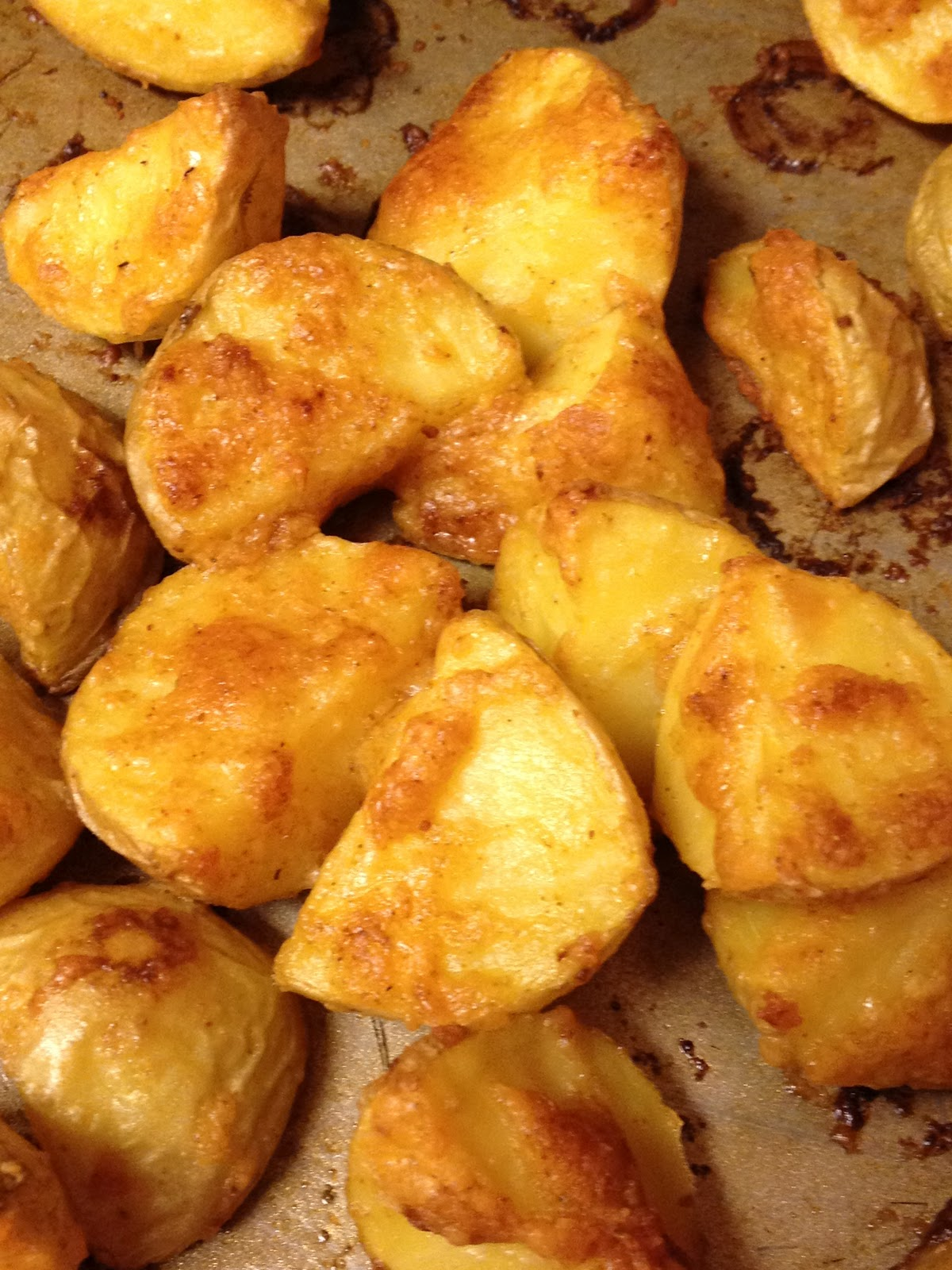 Strugglers Cove: Parmesan Roasted Potatoes