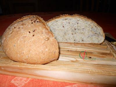 Pan expres con semillas.