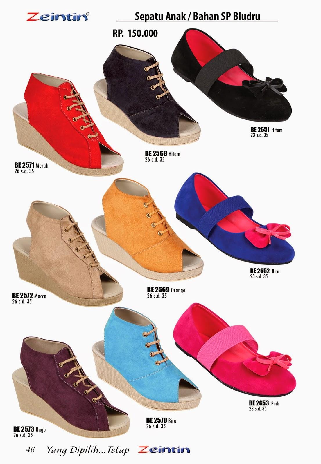 Sepatu Anak Wanita Zeintin Katalog Edisi Brilian 11