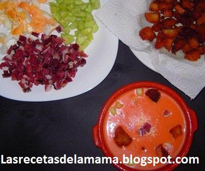 Las recetas de la mam receta de gazpacho andaluz - Superchef cf100 ...
