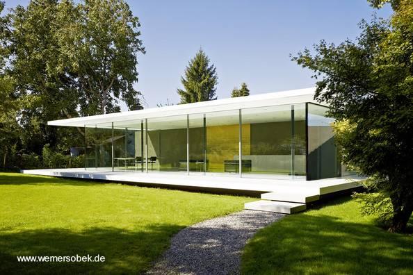arquitectura de casas residencia alemana minimalista