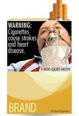 efectos del tabaco en el cuerpo anti cigarro etiqueta