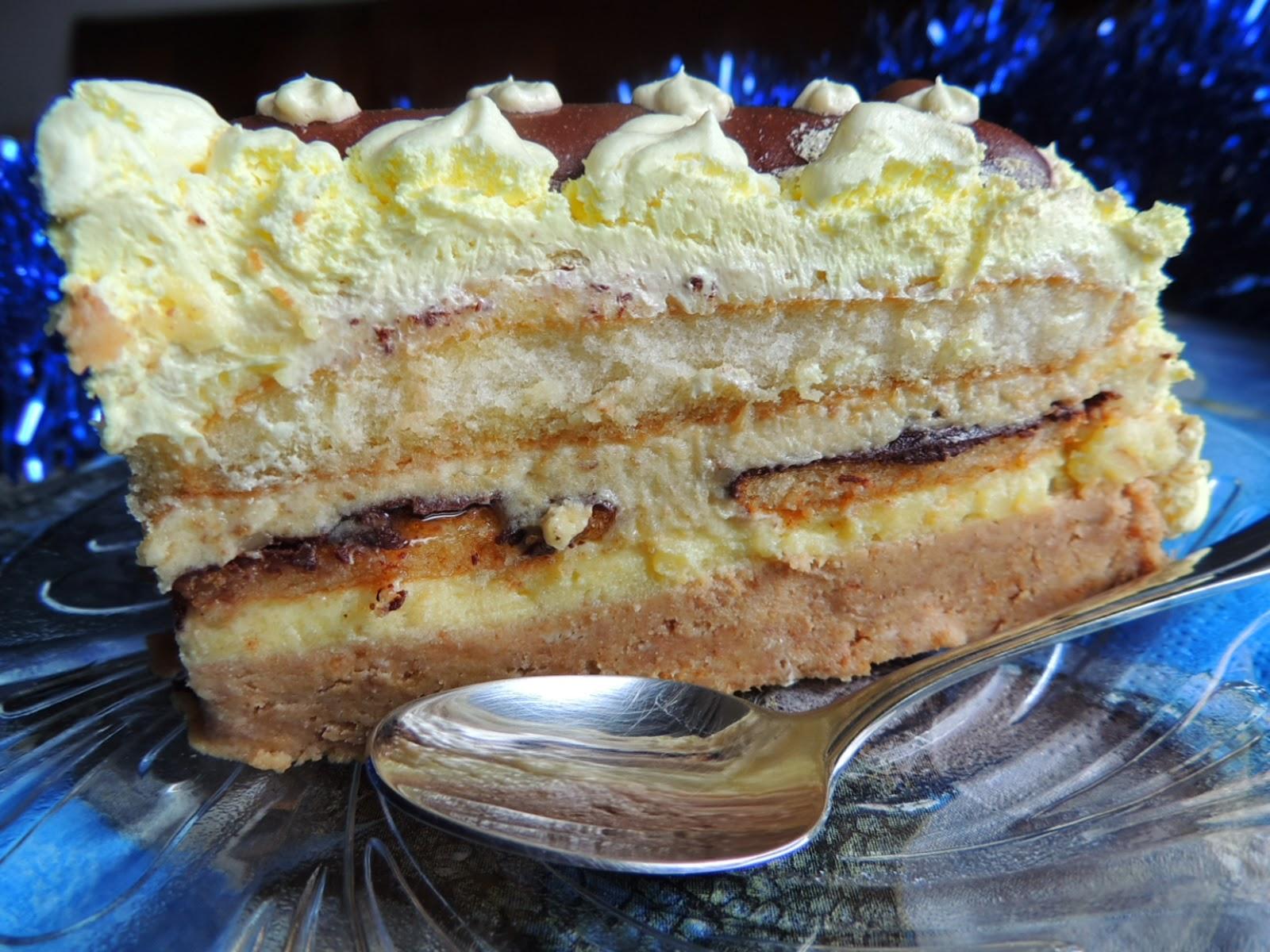 Kremasta torta sa jafa keksom