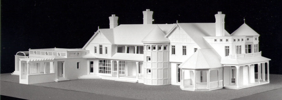Architectural house models of hamptons houses created by for Model houses in new york