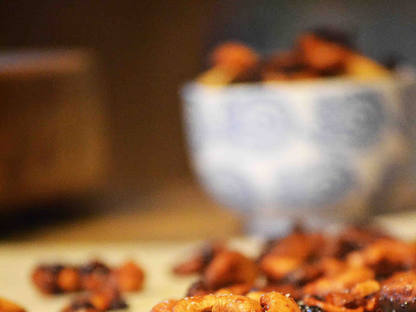 Maple, Cranberry Mustard, Roasted Cashews