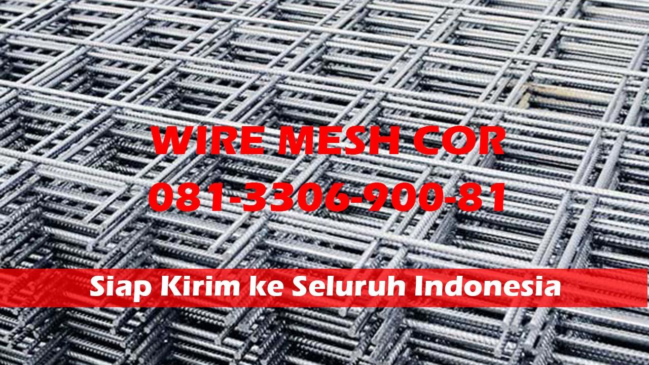 Distributor Wiremesh M10 Per Lembar Kirim ke Gresik Jawa Timur