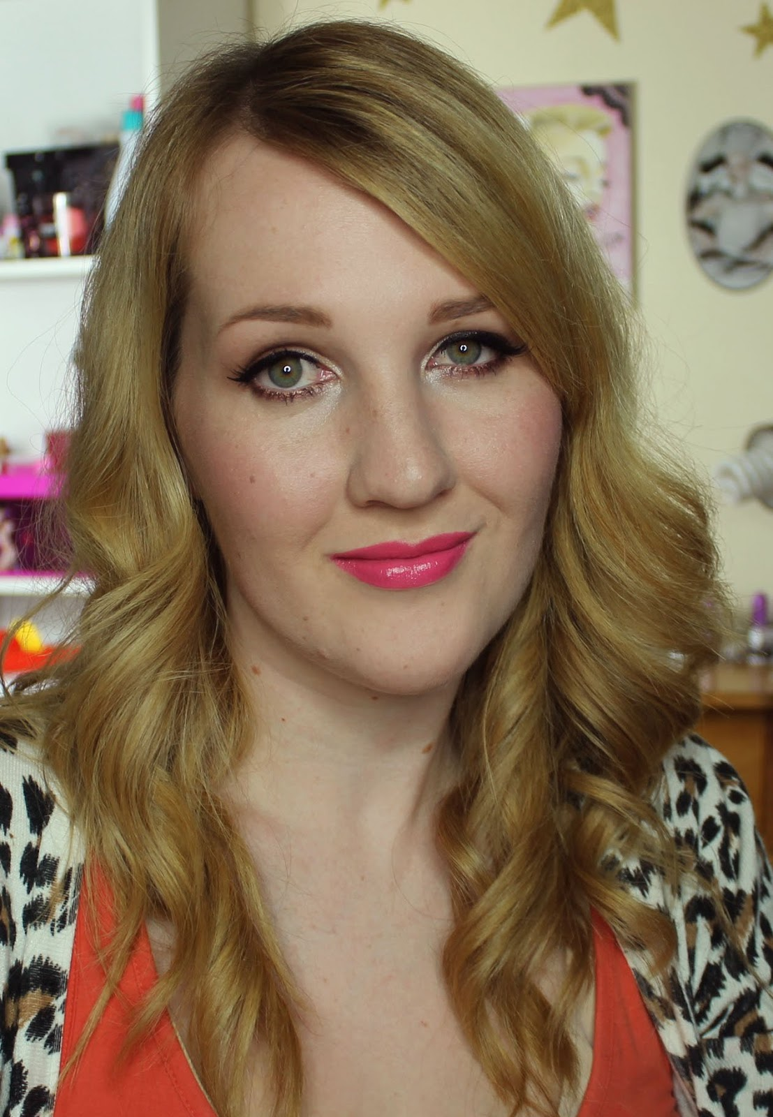 ZA Vibrant Moist Lipstick - RS444 swatches & review