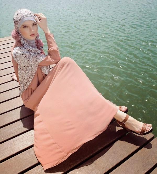 Hijab fashion pour été 2014