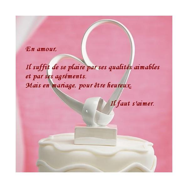 citations citations mariage en carte. Black Bedroom Furniture Sets. Home Design Ideas