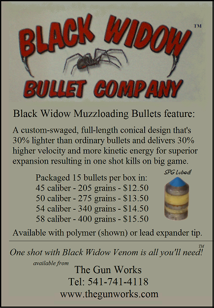 Black Widow Bullets