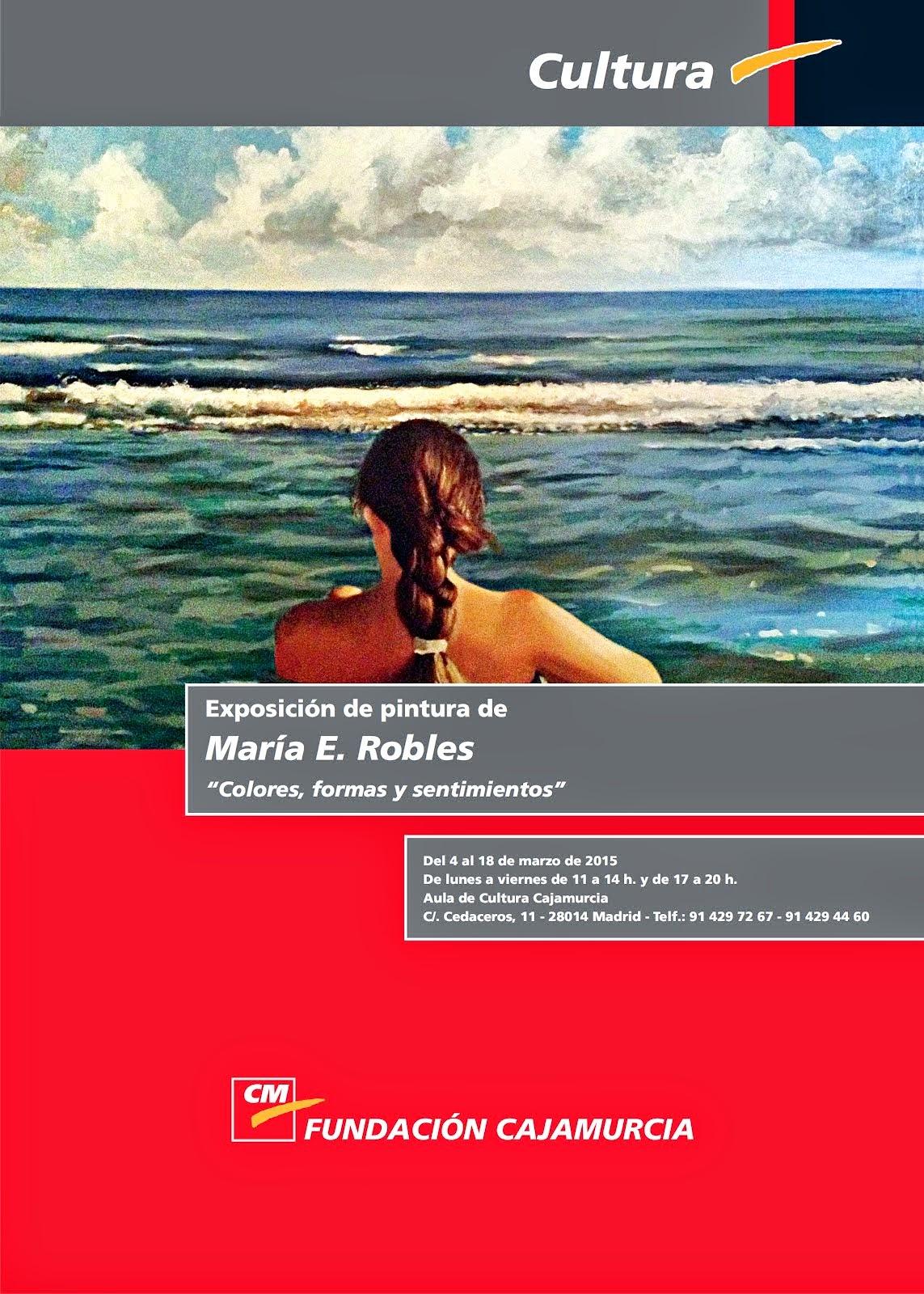 Exhibition at Fundación Caja Murcia