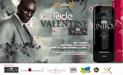 Club Paper Presents NUDE VALENTINE