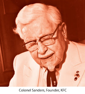 Colonel Sanders, Founder, KFC