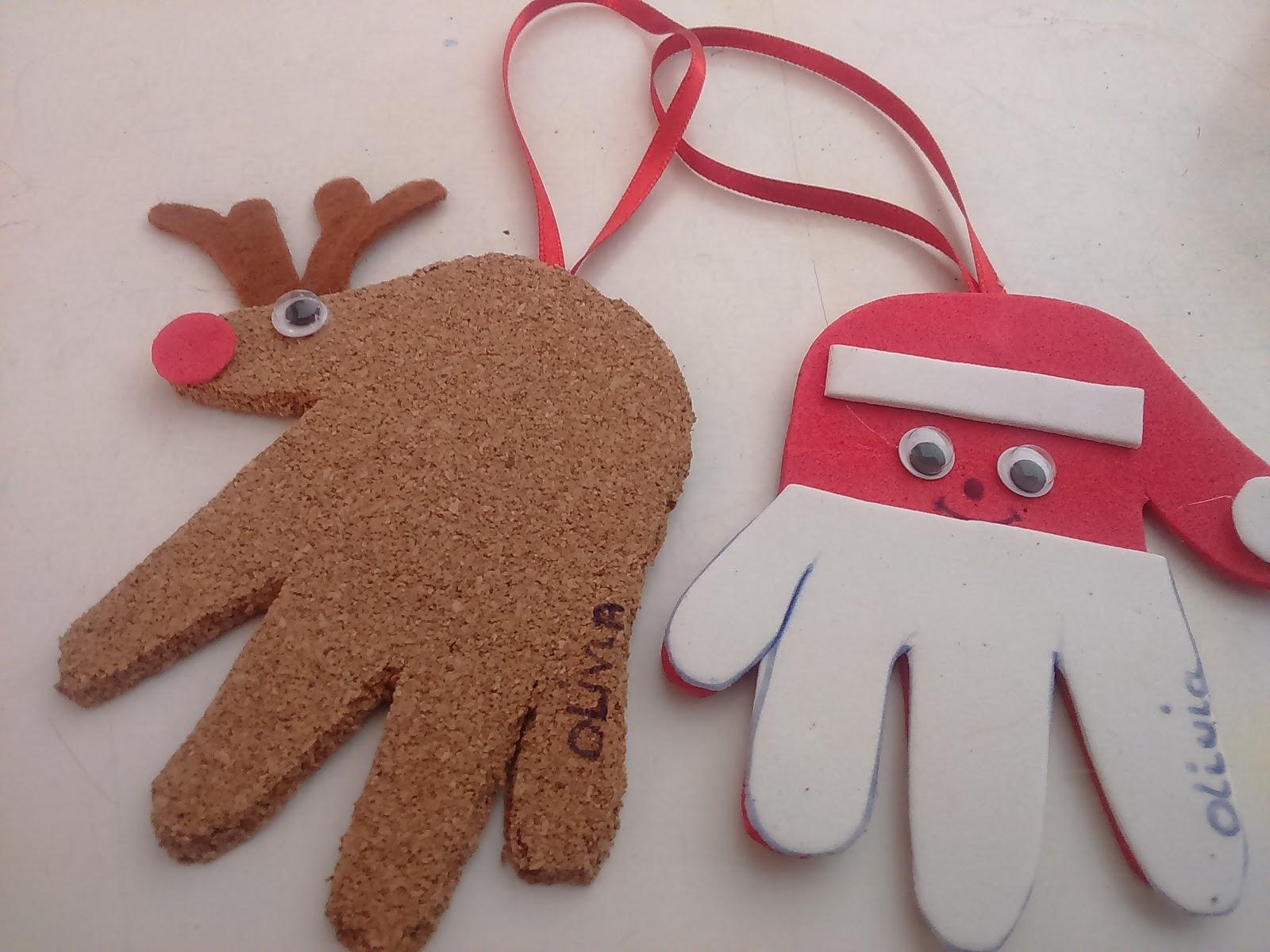 Sale ideas adornos navidad para hacer con ni os - Adornos de navidad hechos a mano por ninos ...